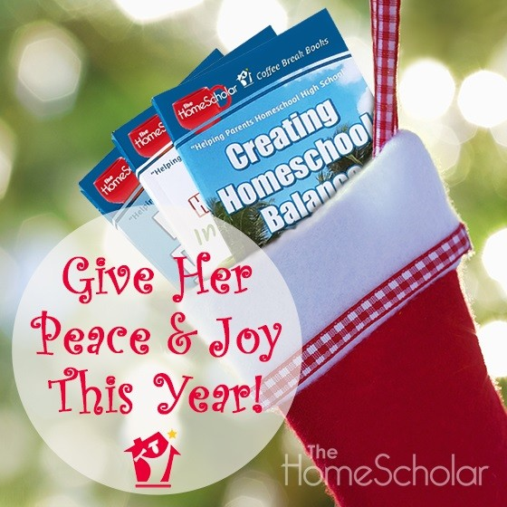 Give Her Peace and Joy This Year with HomeScholar Coffee Break Books