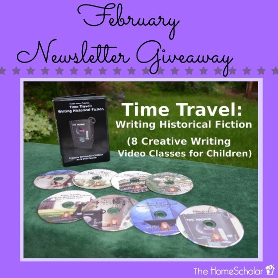 February Newsletter Giveaway