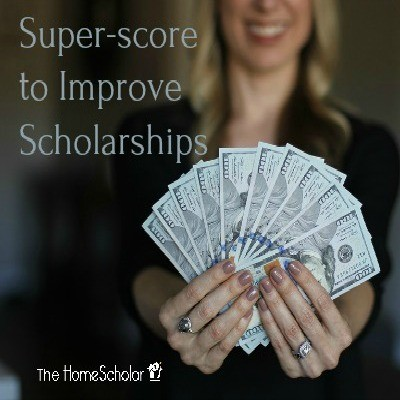 Super-score to Improve Scholarships