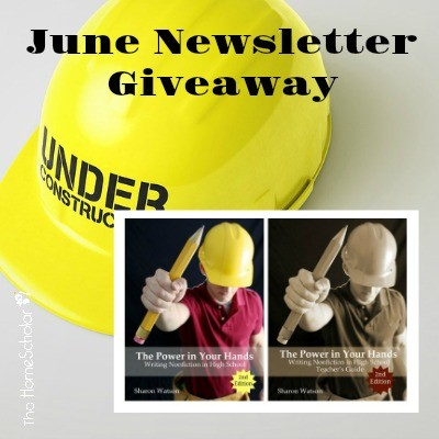 June Newsletter Giveaway