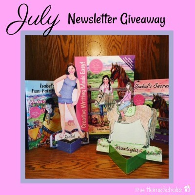 July Newsletter Giveaway