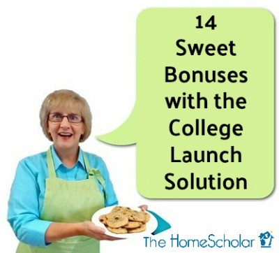 14 Sweet Bonuses with the College Launch Solution
