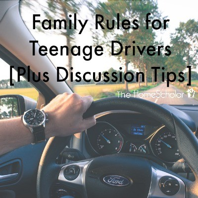 Family Rules for Teenage Drivers [Plus Discussion Tips]